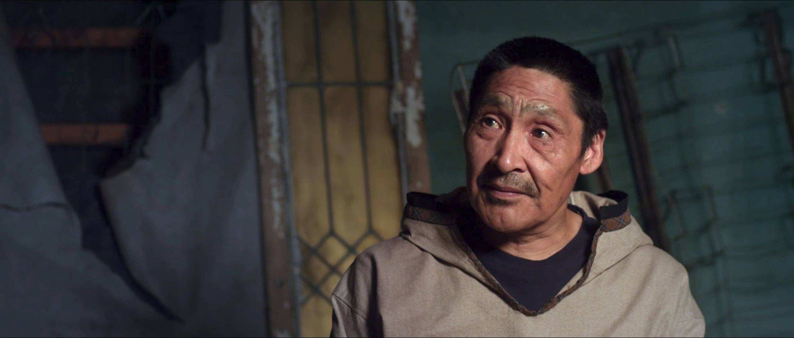 "Theo Ikummaq plays an Inuit in the well-meaning message movie ""Chloe & Theo."""