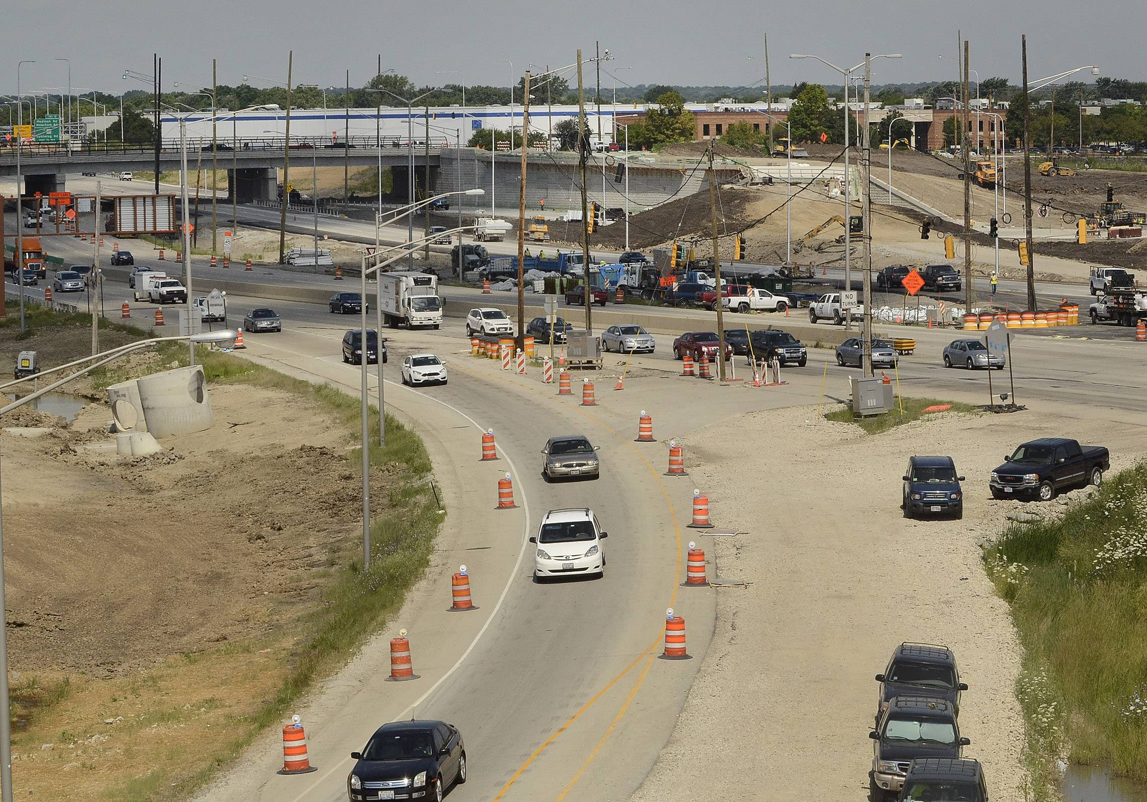 Expect some changes on I-290 leading to Route 390 and on the Reagan Memorial and Jane Addams tollways as summer construction continues into fall.