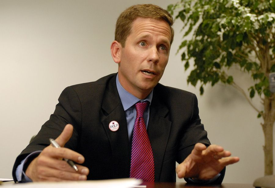 U.S. Rep. Bob Dold visited the Daily Herald's editorial board Thursday.