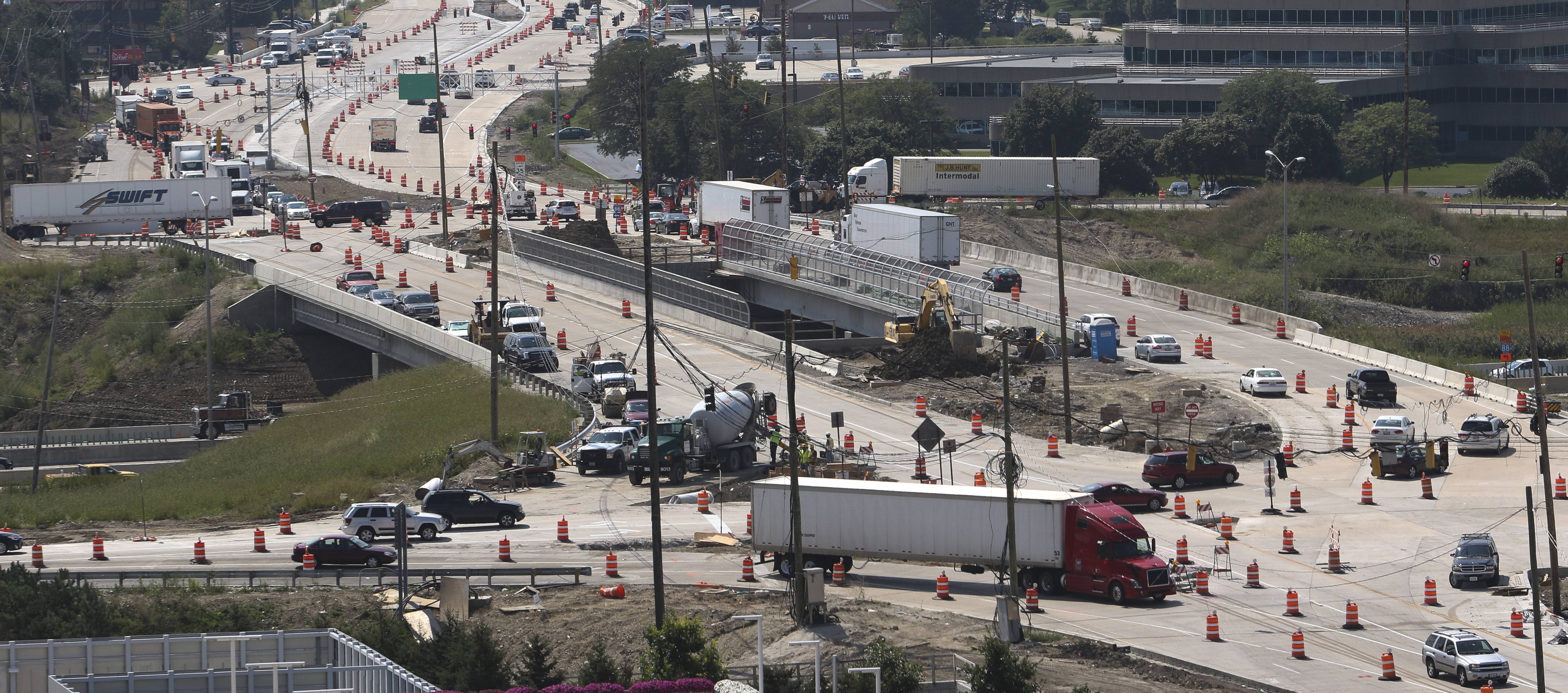 When ramps will close at Route 59, I-88