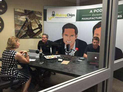 Machining executive turns to podcasts to boost industry