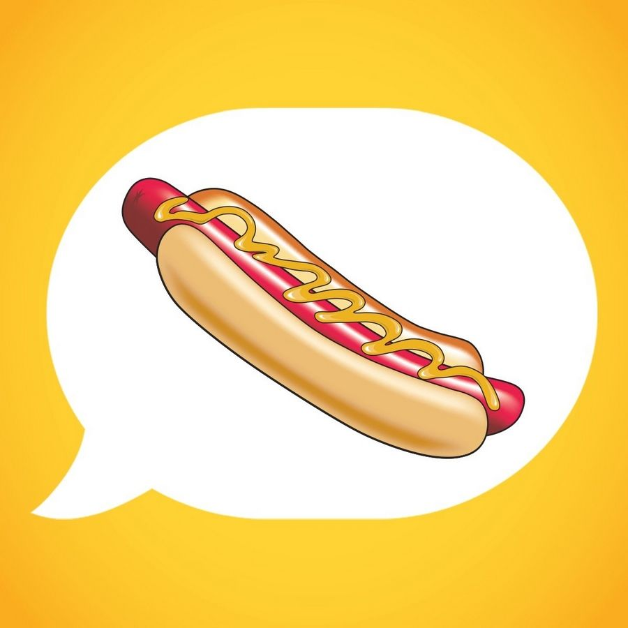 COURTESY OF NATHAN'S FAMOUSNathan's Famous, which has offices in Lisle, wants to make this hot dog a new emoji.