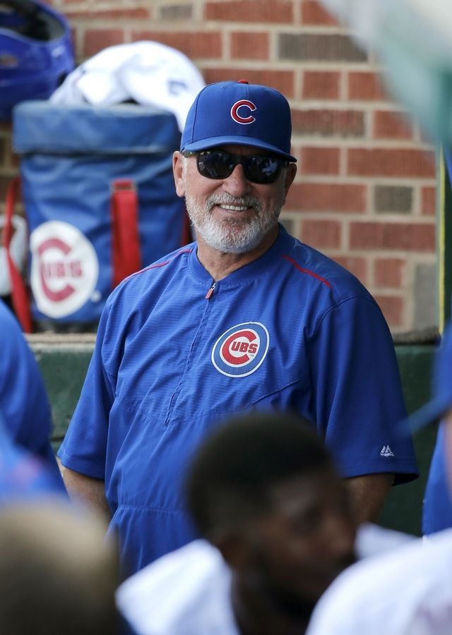 Manager Joe Maddon and the Cubs finished their homestand with a sweep of the Arizona Diamondbacks and now it's on to St. Louis for a series with the first-place Cardinals.