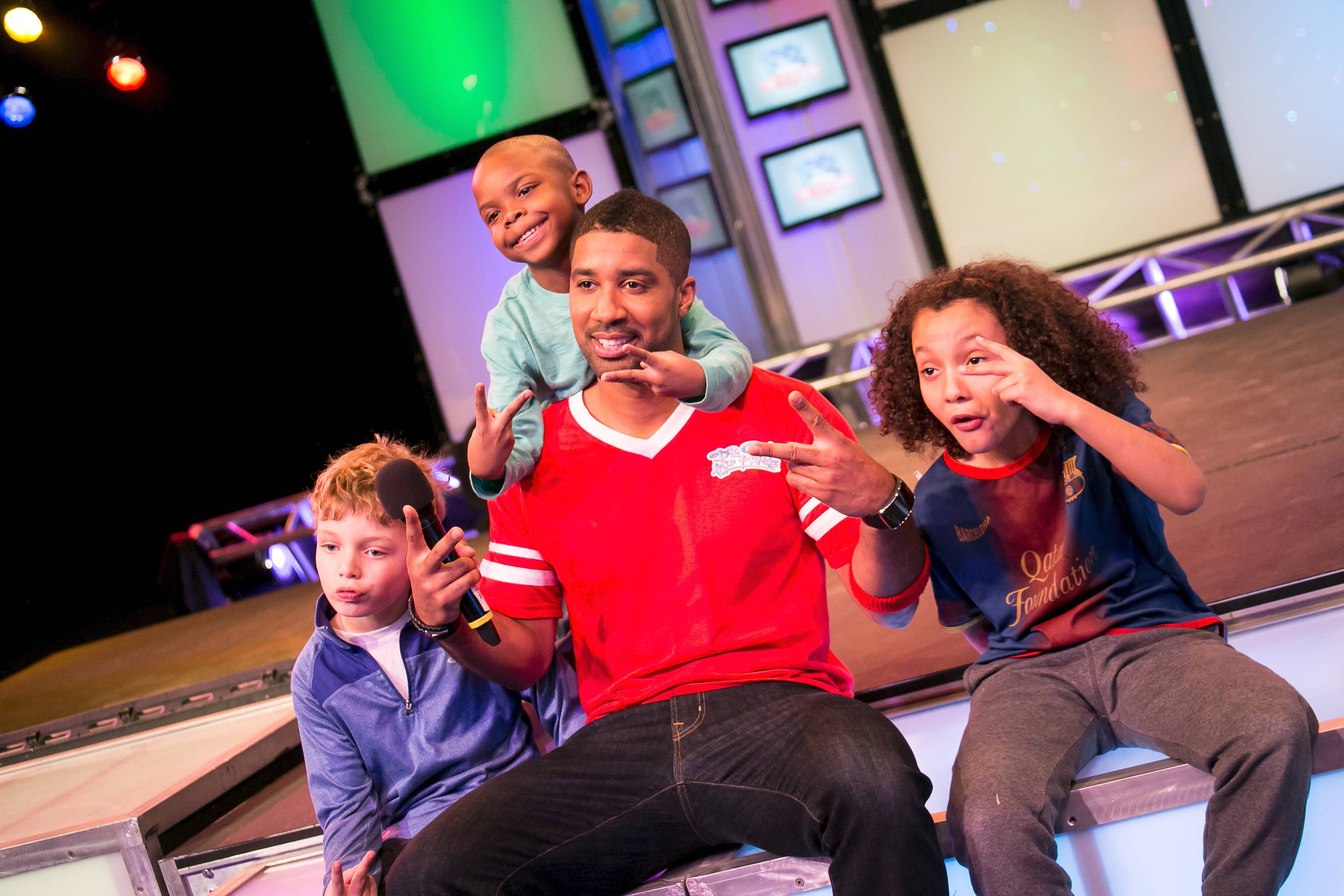 """Pride,"" aka Barrington native Brandon Watts, co-stars on the new WTTW kids show ""Dr. Cool and Pride: The Big Show."""