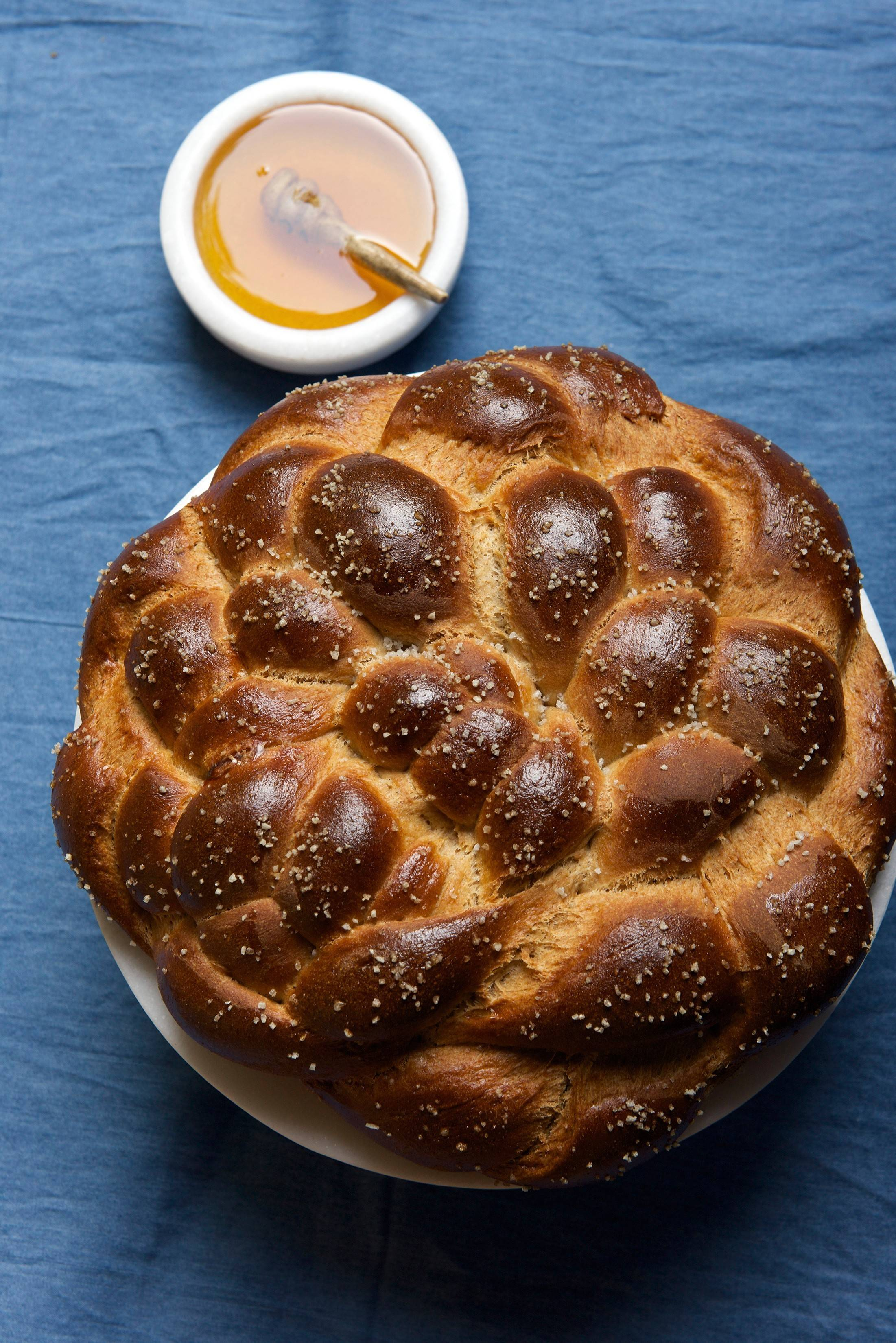 A stuffed New Year challah is even sweeter