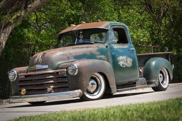 1951 Chevy Pickup Has A Killer Patina