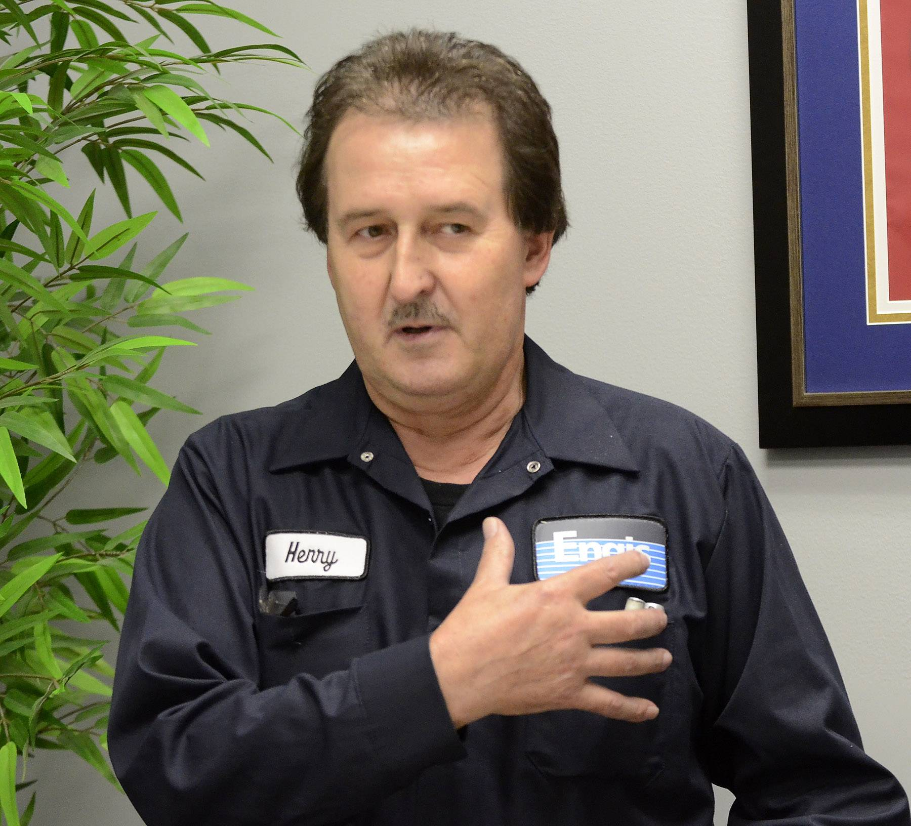 Engis Corp. employee Henry Kosinski recounts his experience having cardiac arrest at work on July 14.