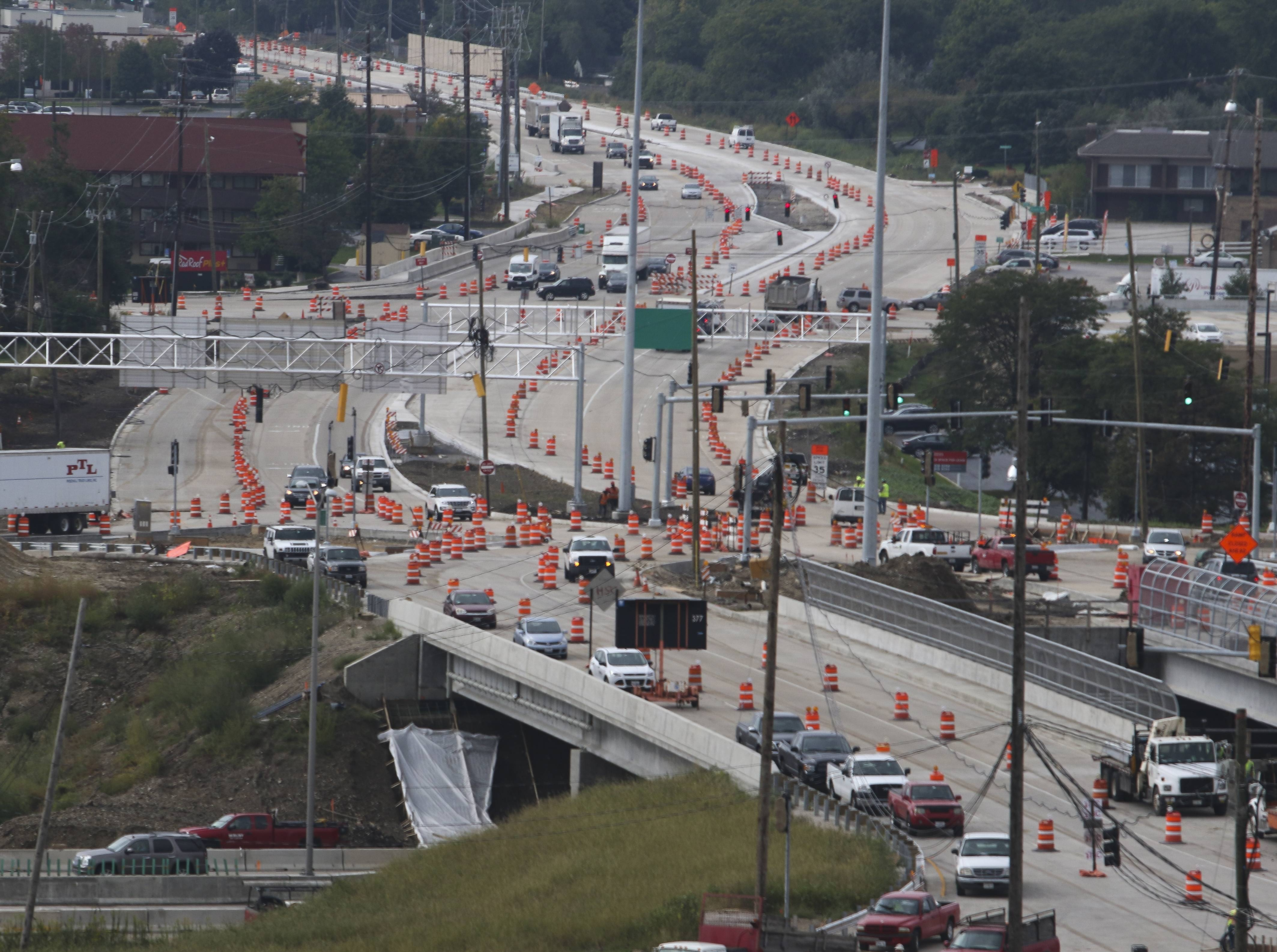 Pay attention when Route 59, I-88 interchange opens Monday