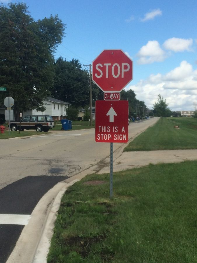 Soapbox: Electronics recycling in Naperville, stop signs in Hanover