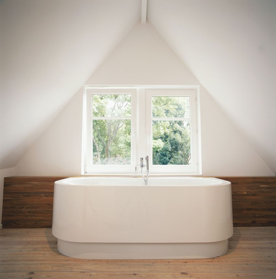 . Contemporary bathroom design is all about simplicity