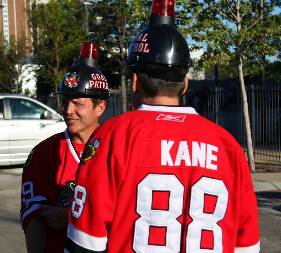 During the Blackhawks training camp festival scrimmage Monday September 21 2015 night at the United Center in Chicago.