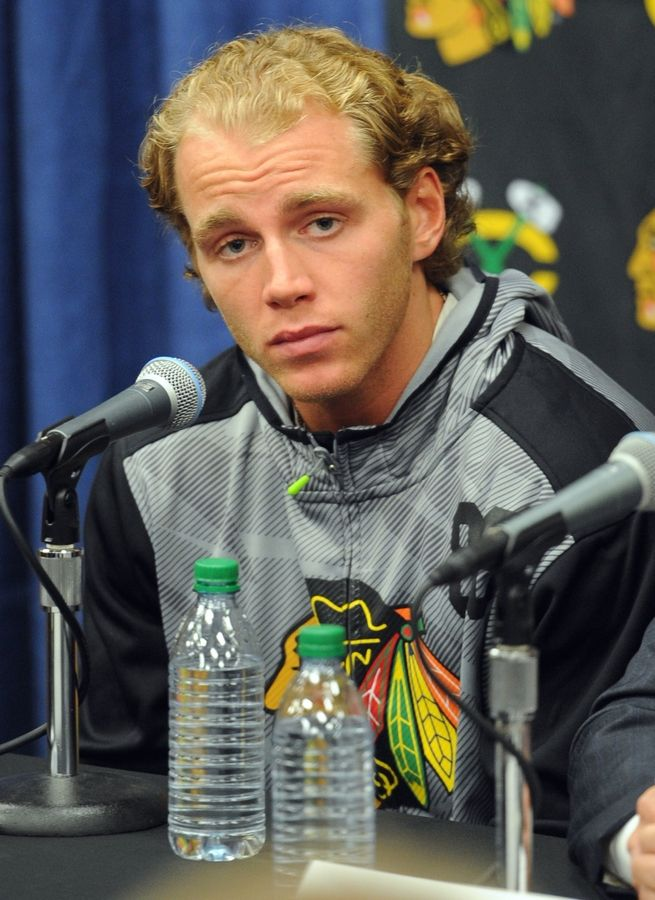 The attorney representing a woman who alleges she was sexually assaulted in the home of Chicago Blackhawks star Patrick Kane says a rape kit evidence bag was ripped open and delivered to the mother of his client.