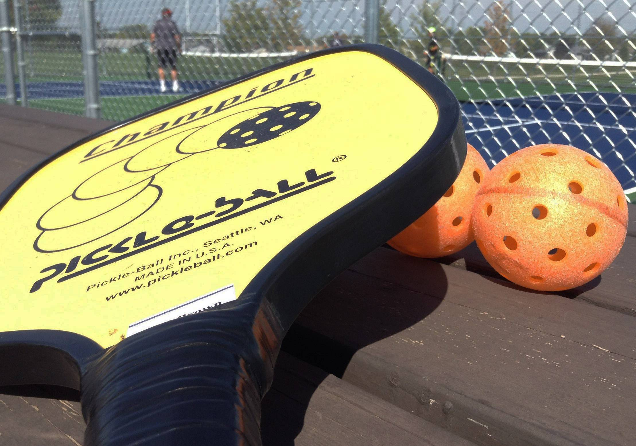 New outdoor pickleball courts a hit in Fremont Township