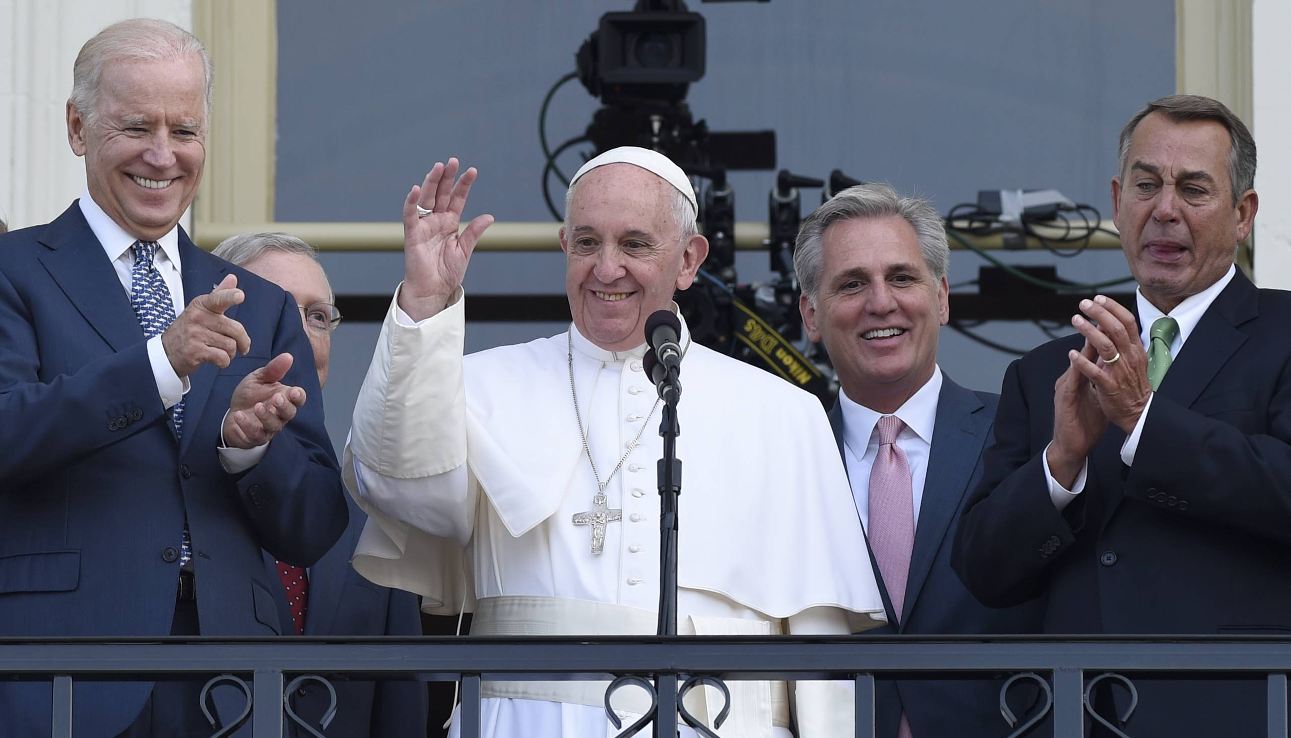 Images: Pope Francis in D.C., Day 2