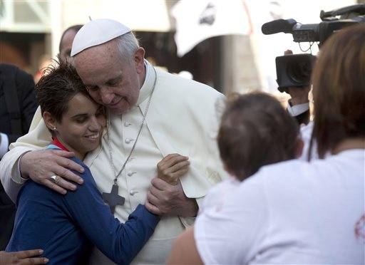 How not to panic about possibly meeting Pope Francis