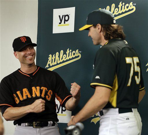 super popular e660d 92f32 Hudson, Zito face off in likely final outings at Oakland