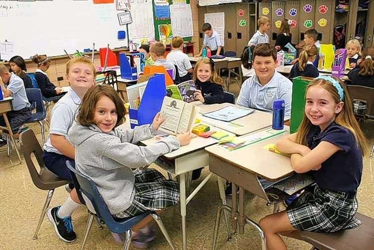 "Our Lady of the Wayside School in Arlington Heights has updated its curriculum to become a ""balanced literacy school."" It was named a 2015 National Blue Ribbon School Tuesday."