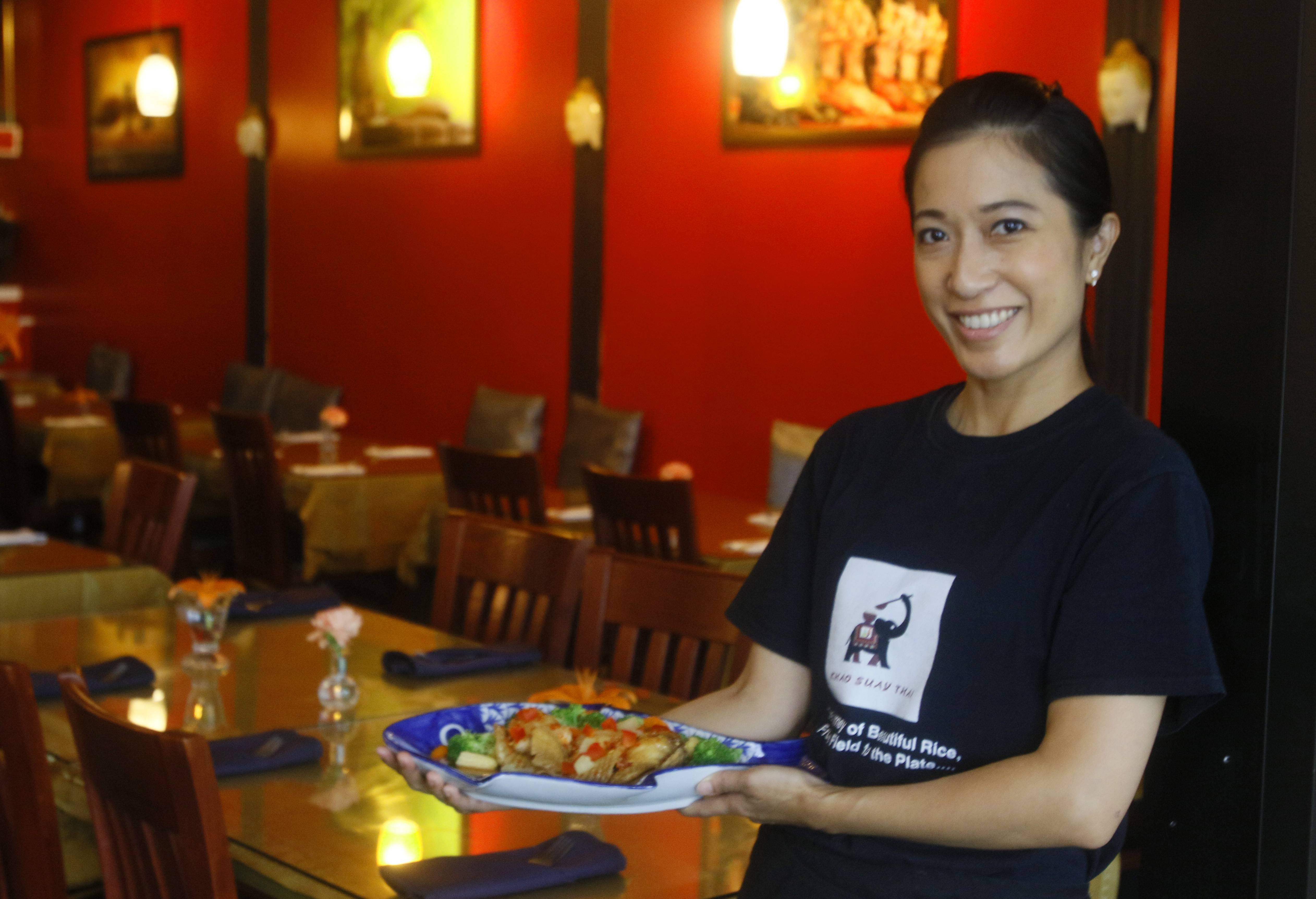 Pinthip Jukareddy is an owner of the recently opened Khao Suay Thai restaurant in Naperville.