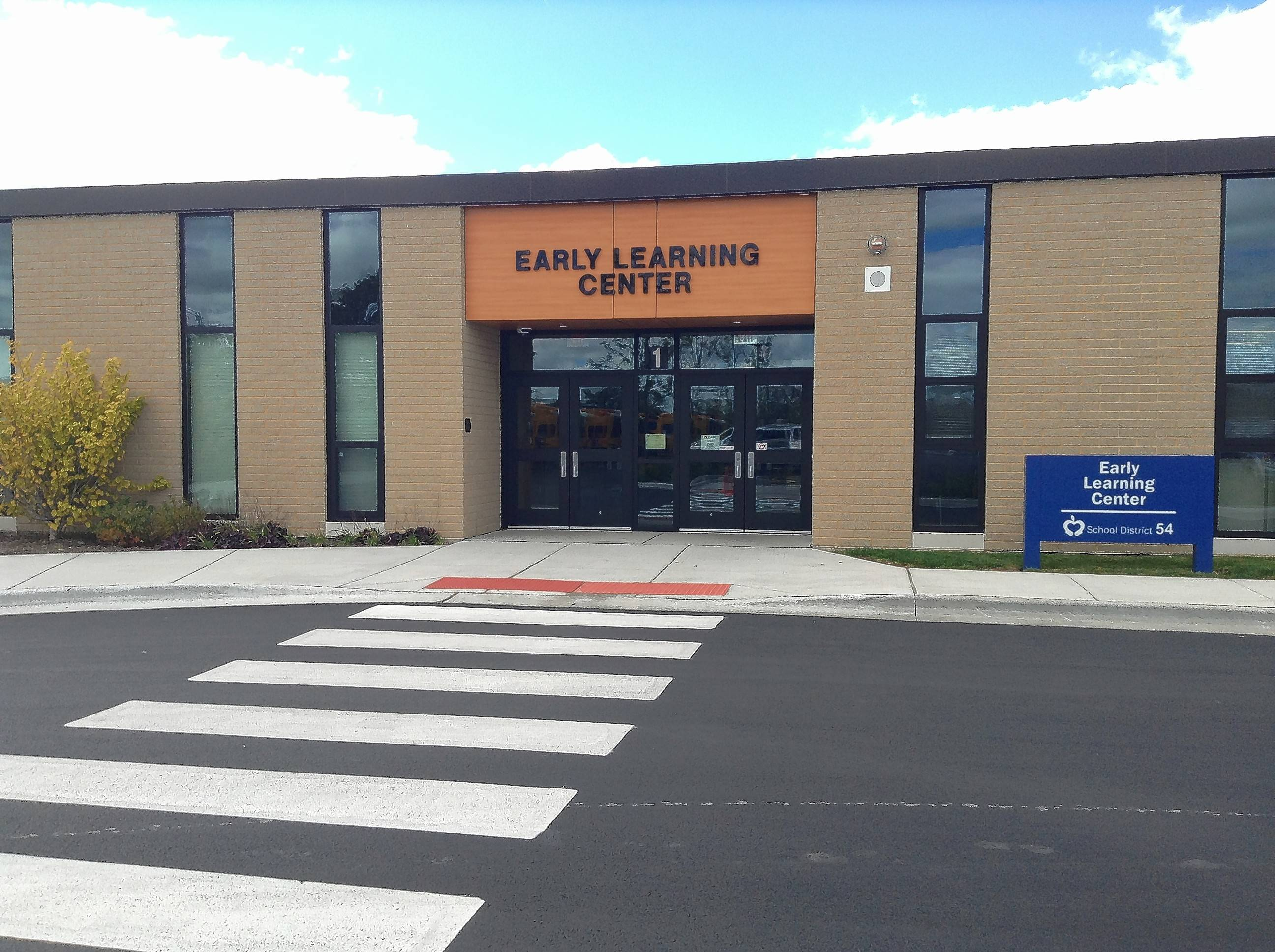 Schaumburg Township Elementary District 54 school board members Thursday discussed the first year of operation of the district's Early Learning Center, which opened next to the administration building on Schaumburg Road in August 2014.