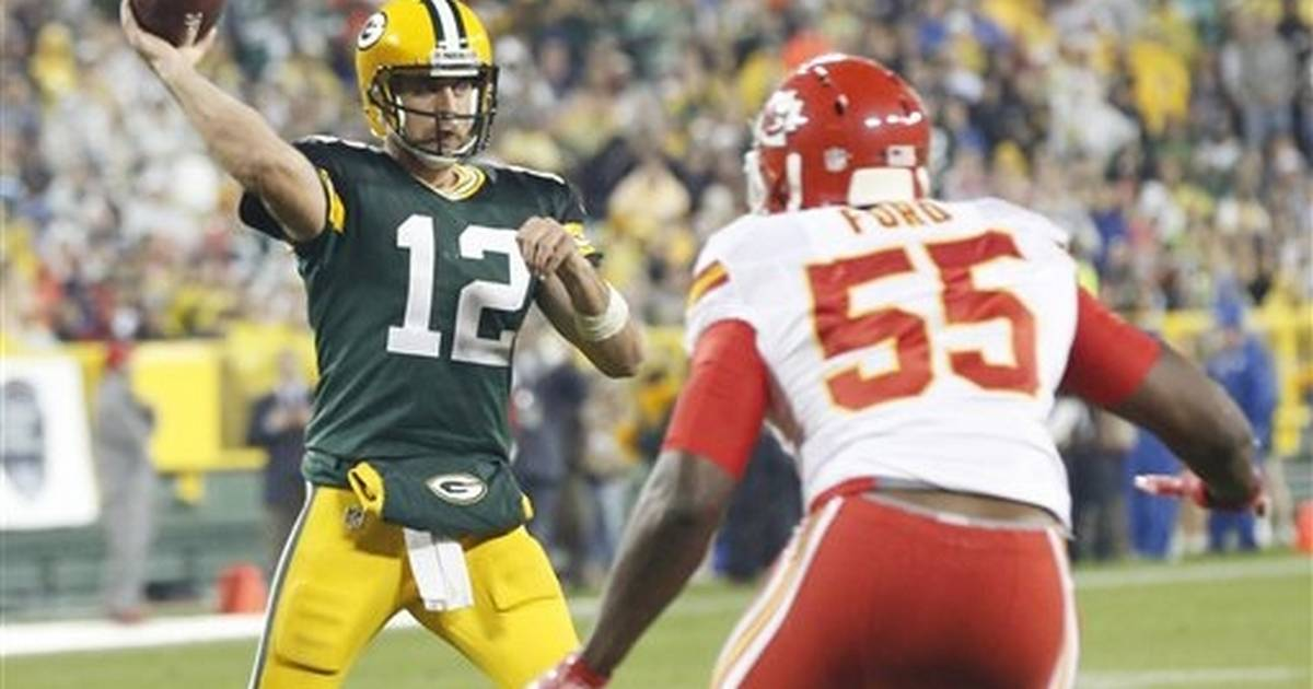Rodgers, Packers try to extend perfect start against 49ers