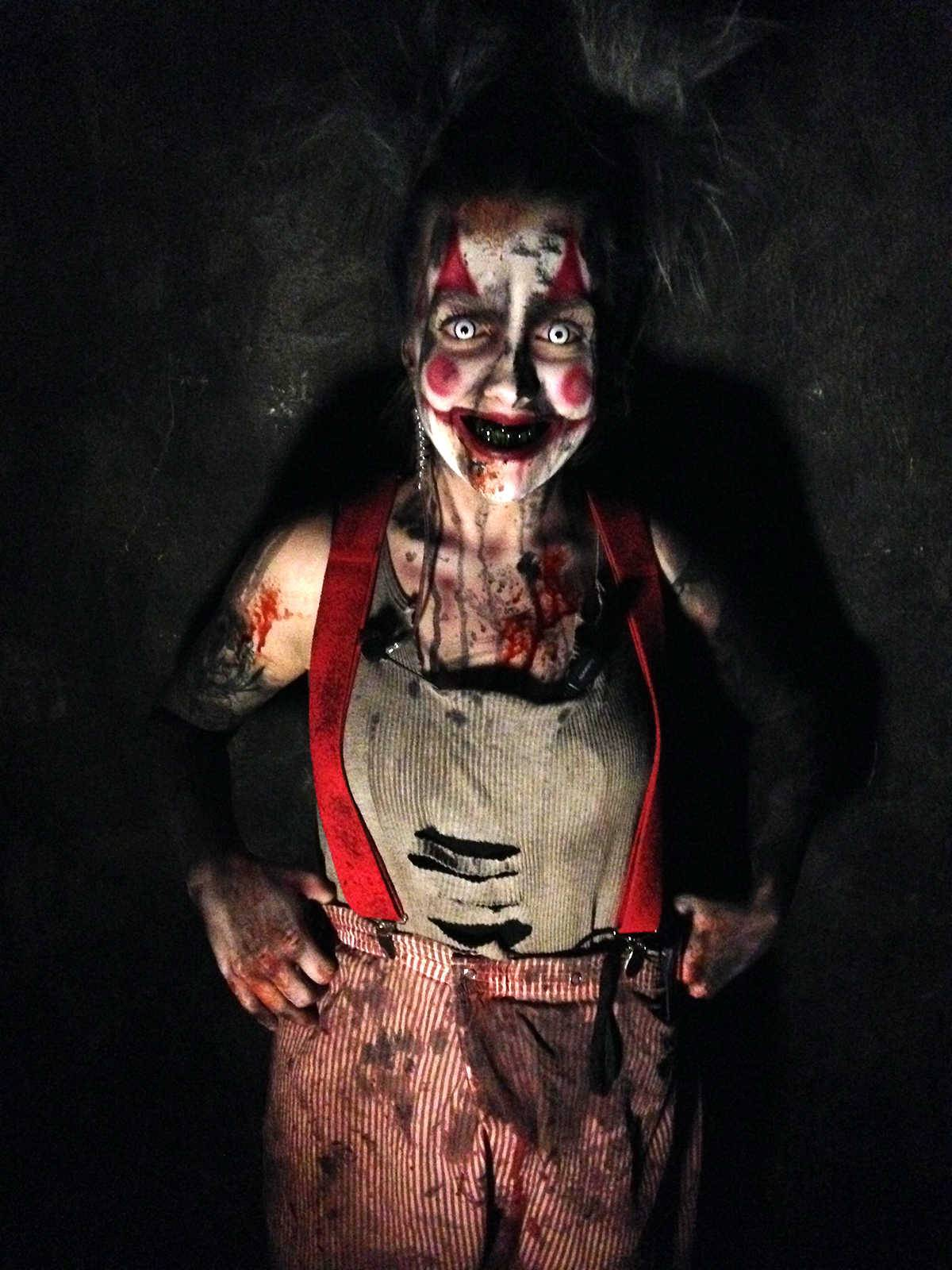 Ashley Keel Is Performance Manager At 13th Floor Haunted House In Melrose  Park.