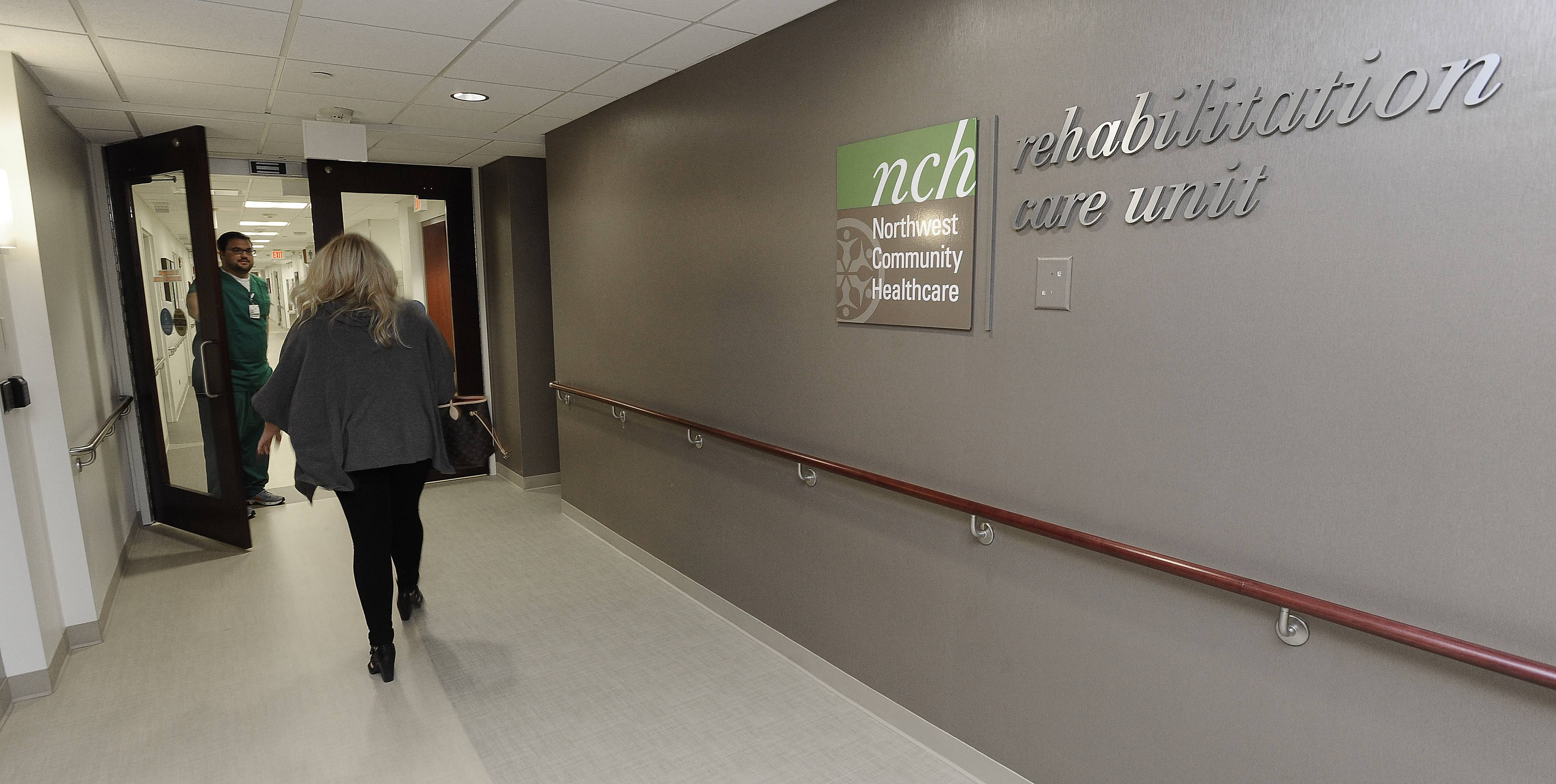 Northwest Community Hospital in Arlington Heights has opened a 17-bed inpatient rehabilitation unit.