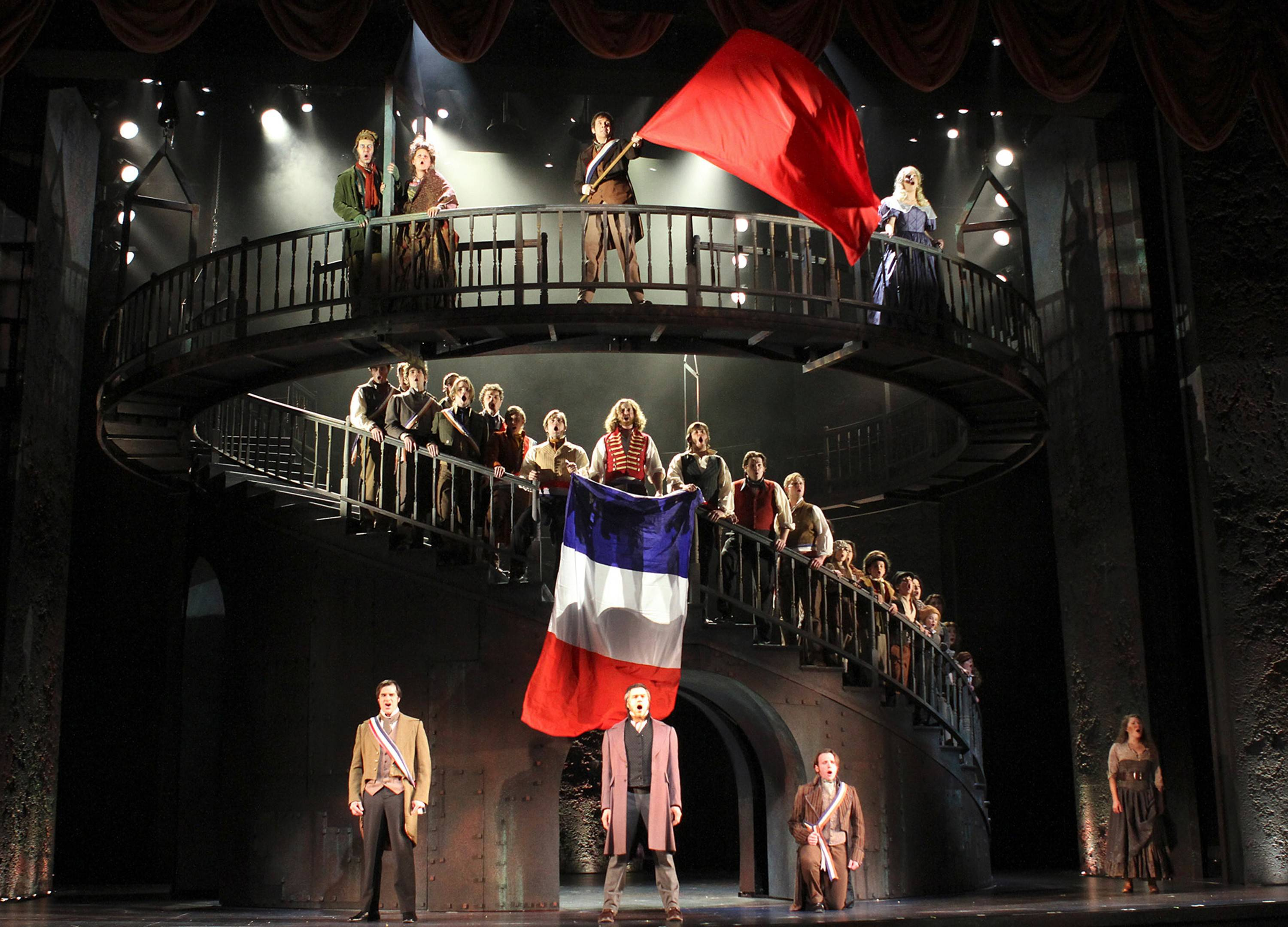 "Paramount Theatre's revival of ""Les Miserables"" earned 2015 Equity Joseph Jefferson Awards for production, director Jim Corti and set design during the 47th Annual Jeff Awards Ceremony held Monday at Drury Lane Theatre."