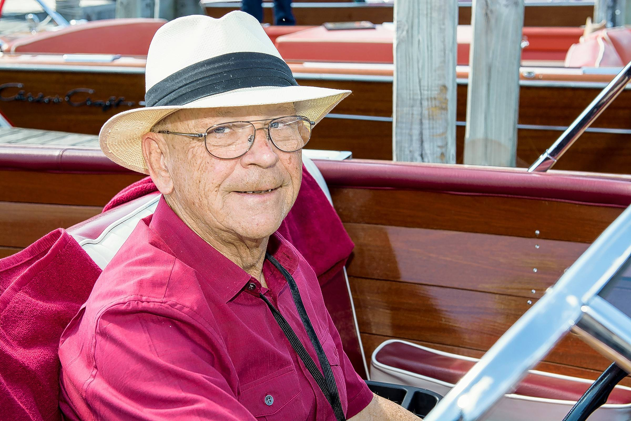 Michael Motherway of Northbrook has been navigating area lakes since the 1950s.