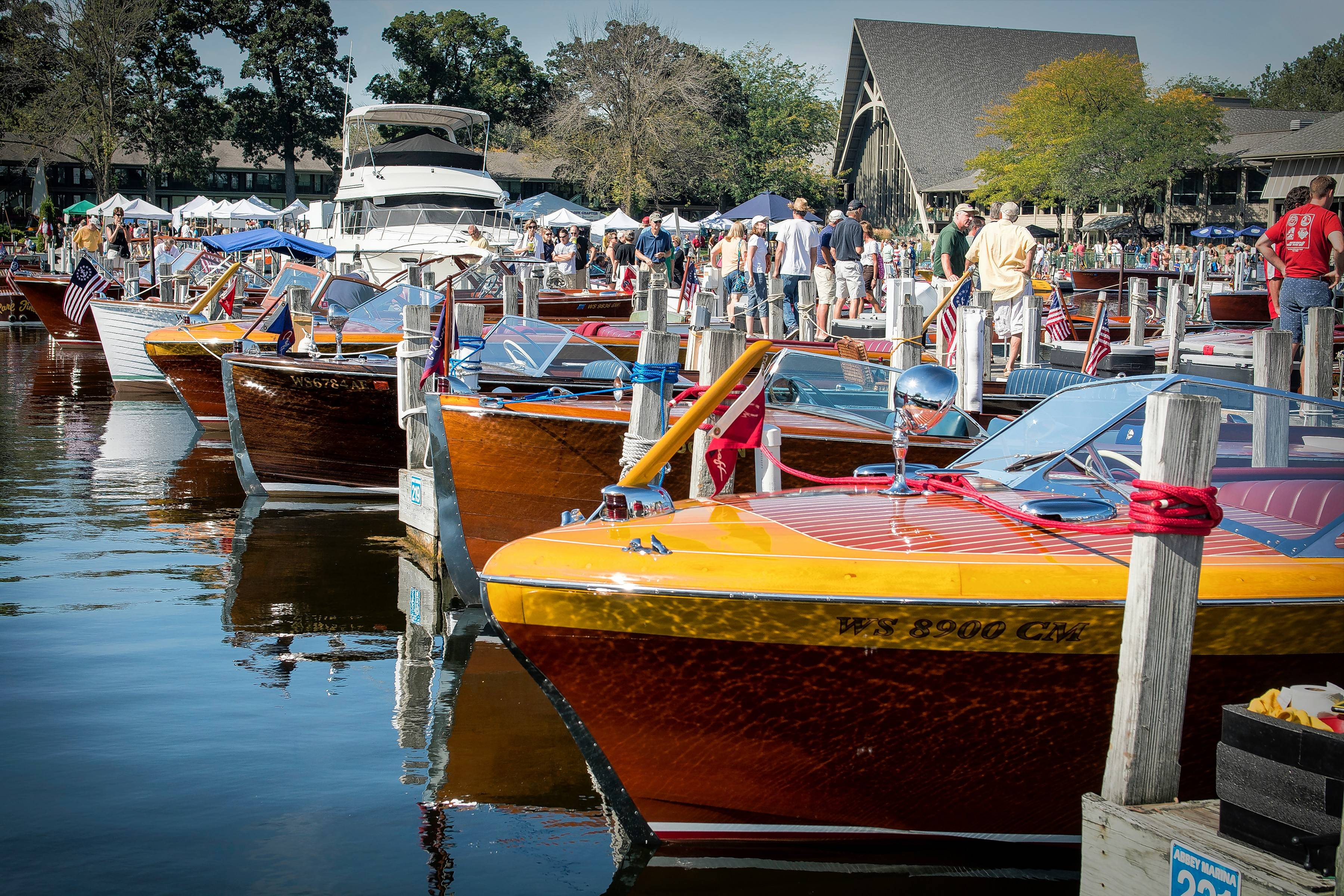 More than 120 vintage boats and their owners showed up for the 2015 Geneva Lakes Antique and Classic Boat Show.
