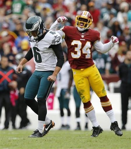Jerseys NFL Cheap - Kirk Cousins' late TD pass lifts Redskins past Eagles 23-20