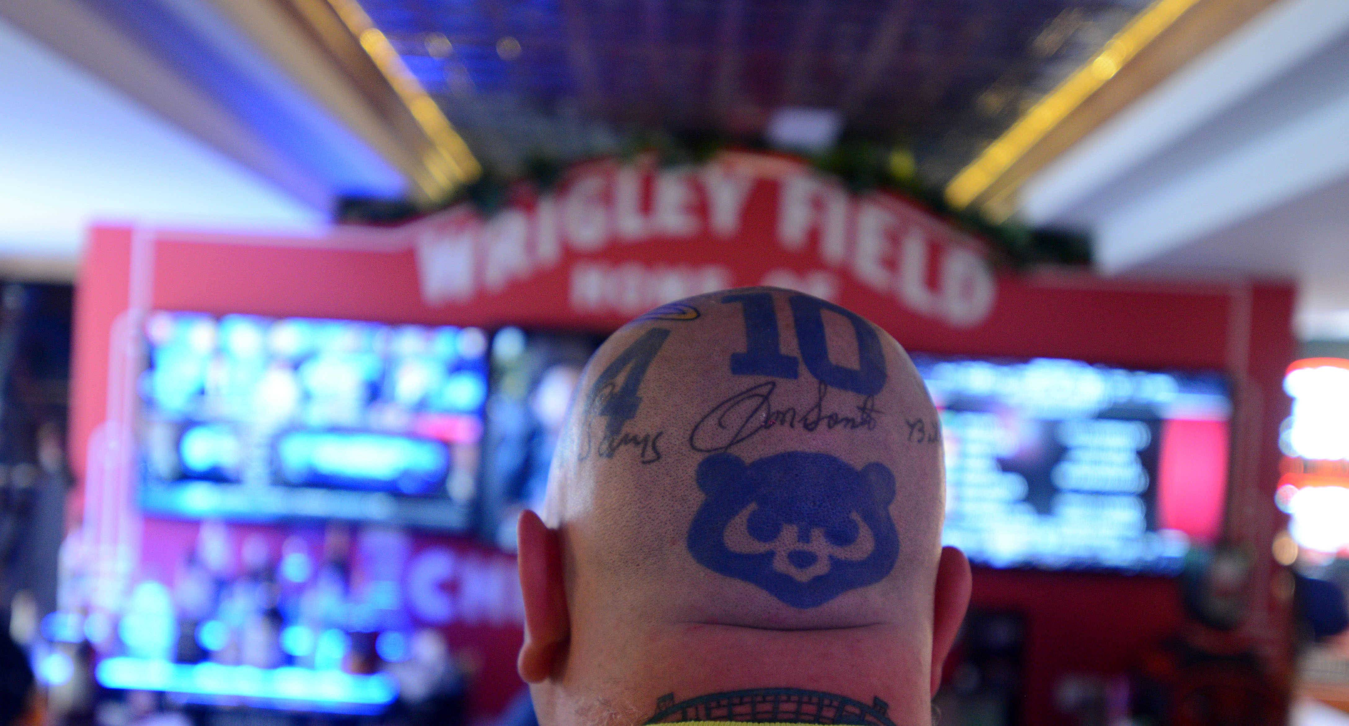 Images: See the ultimate Chicago Cubs man cave