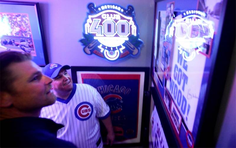 Images See The Ultimate Chicago Cubs Man Cave