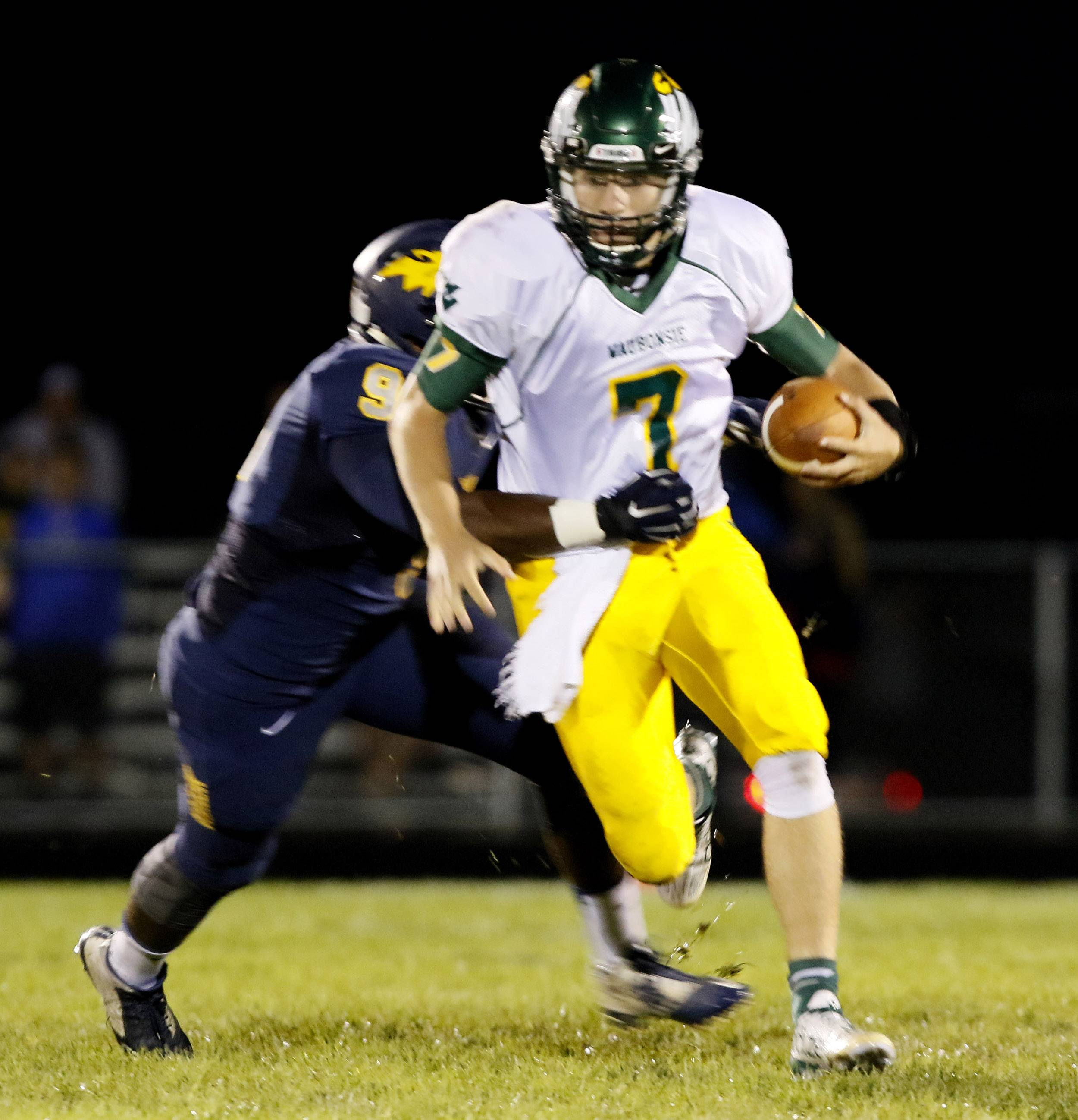 Waubonsie Valley is looking to players like senior quarterback Jack Connolly for leadership.