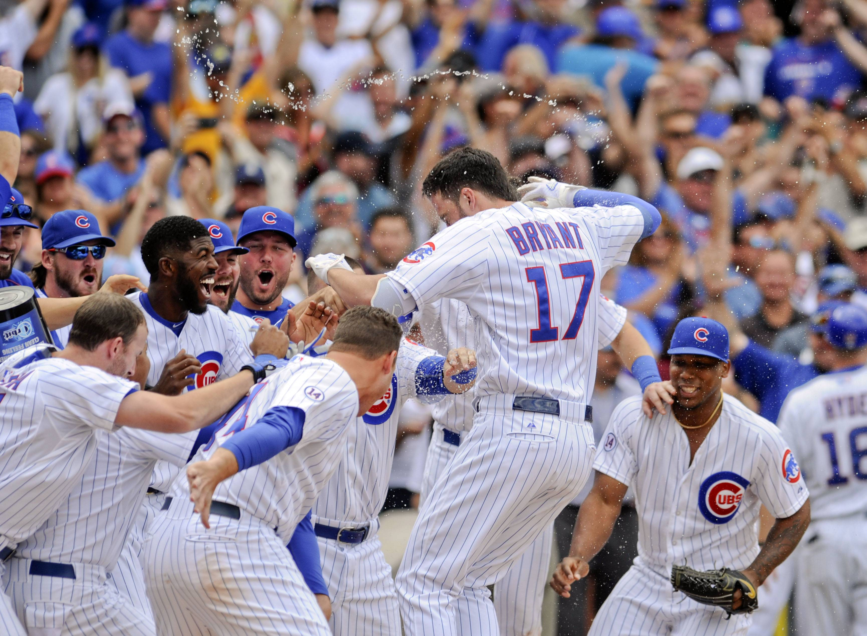 Images: Chicago Cubs third baseman Kris Bryant's year
