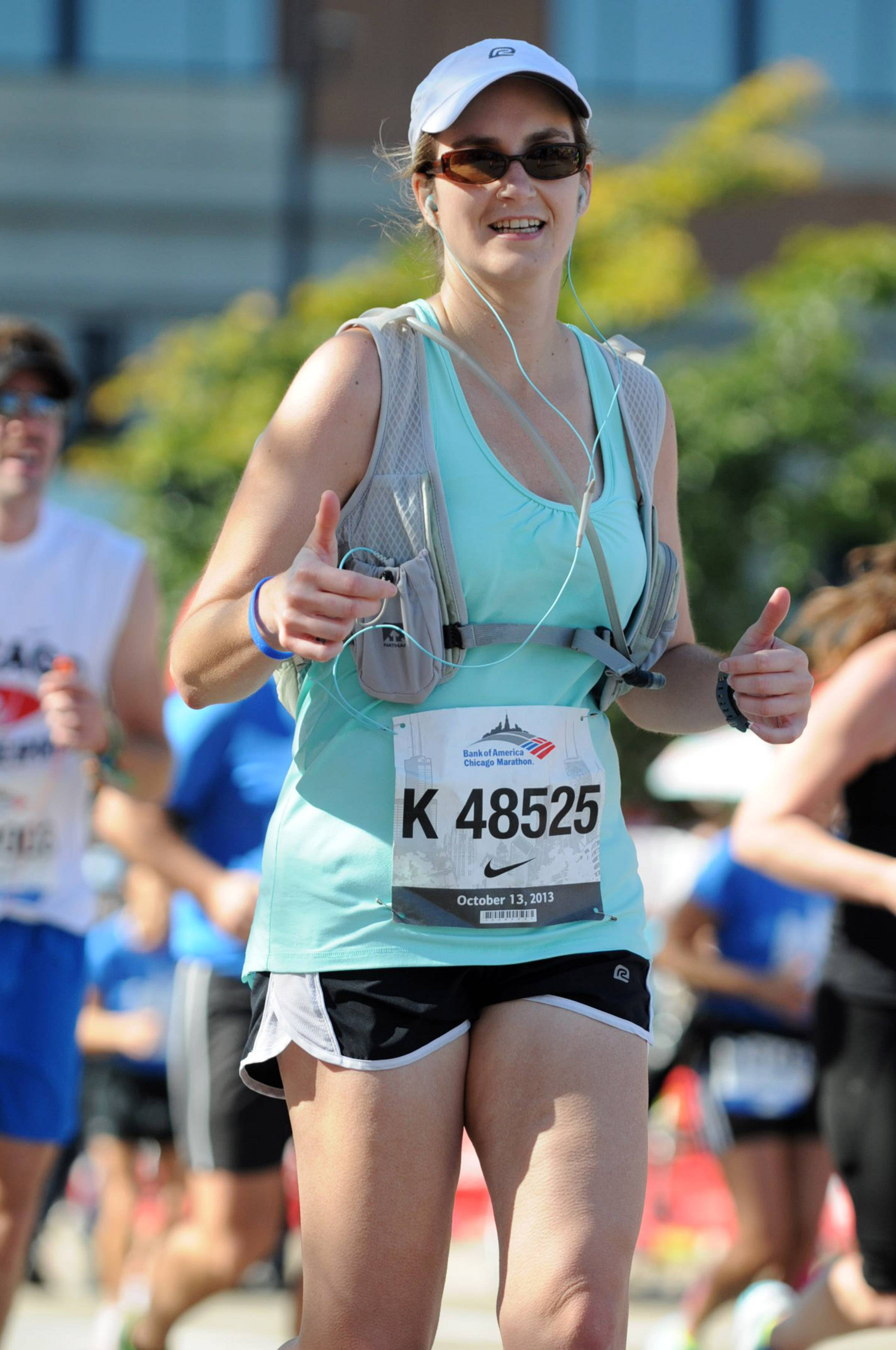 Nicole Wojnarowski, a 1993 graduate of then St. Charles High School, turned 40 five months ago. To make note of that achievement, she set a goal to run in 40 races while she is 40 years old. The Chicago Marathon, if she completes it, will be number 21.