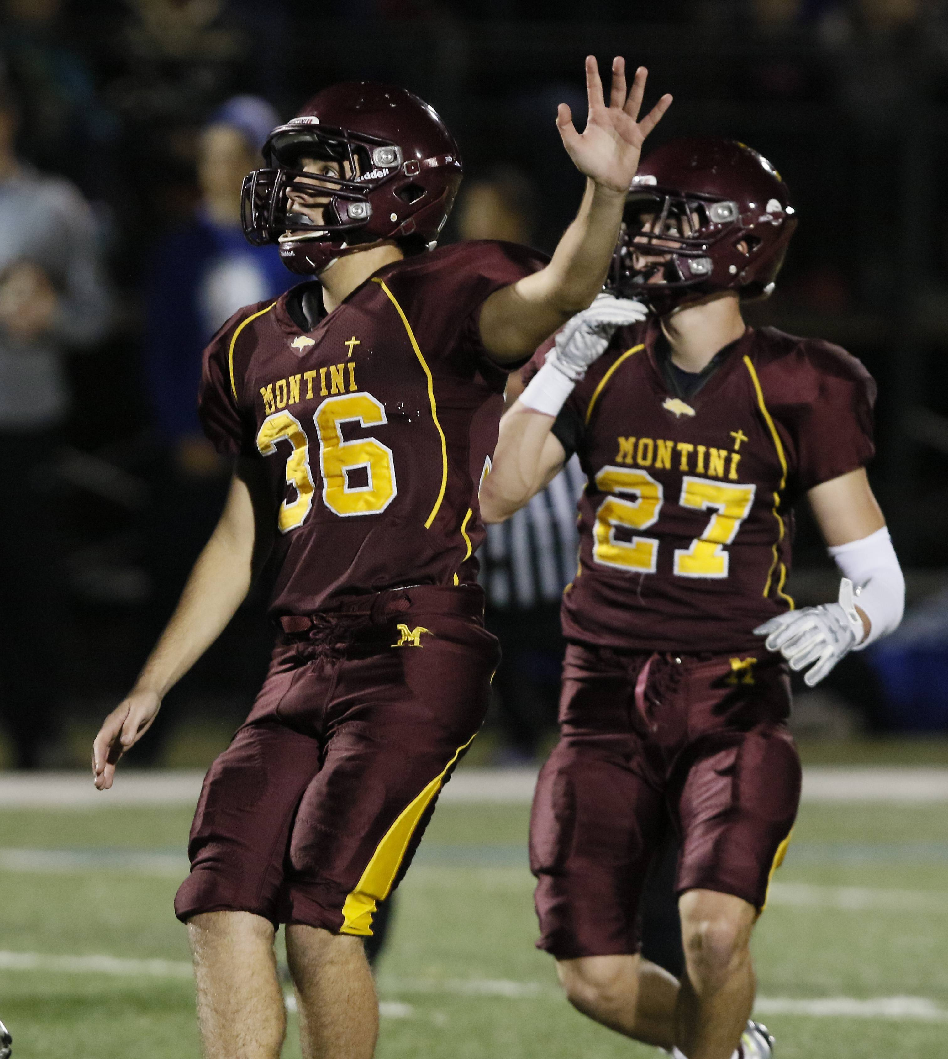 Images: Montini over St. Francis, 27-8 in football