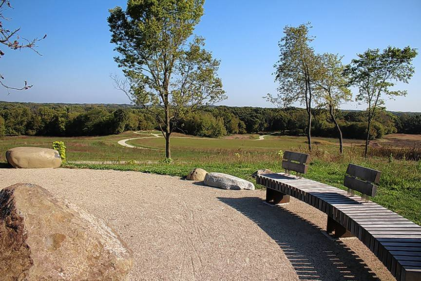 This addition to the Grassy Lake Forest Preserve opened Friday, and is an example of one of the uses of land acquisition funding approved by voters in 2008.