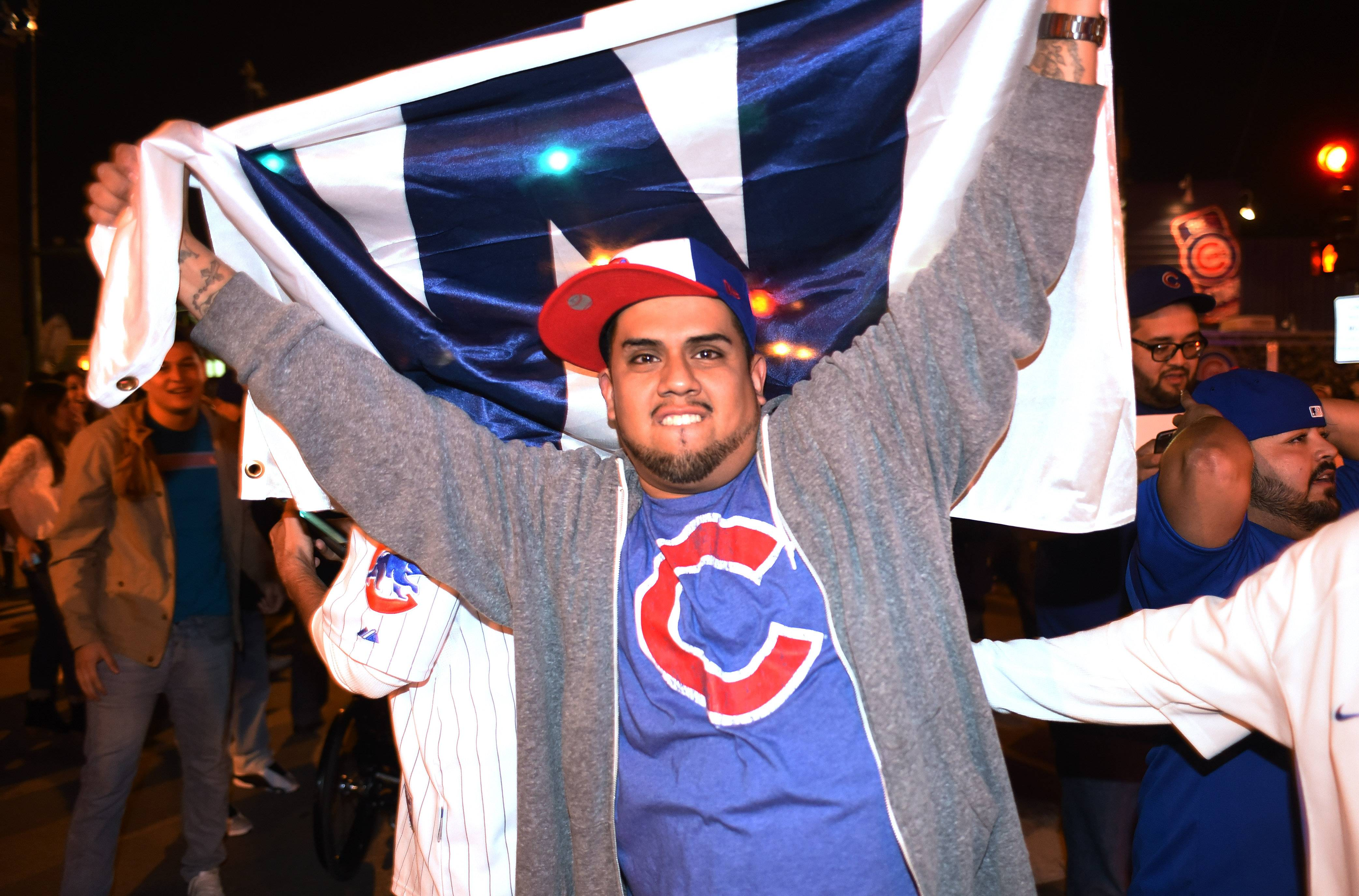 Fans watched the Cubs beat the Pittsburgh Pirates Wednesday at Murphy's Bleachers. The bars near Wrigley Field expect huge crowds for the playoffs.