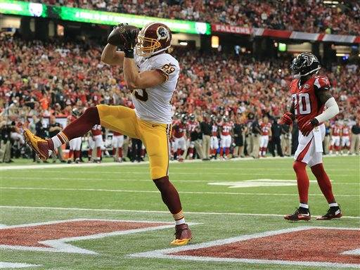 Nike jerseys for sale - WR Ryan Grant slips, Redskins fall to Falcons 25-19 in OT
