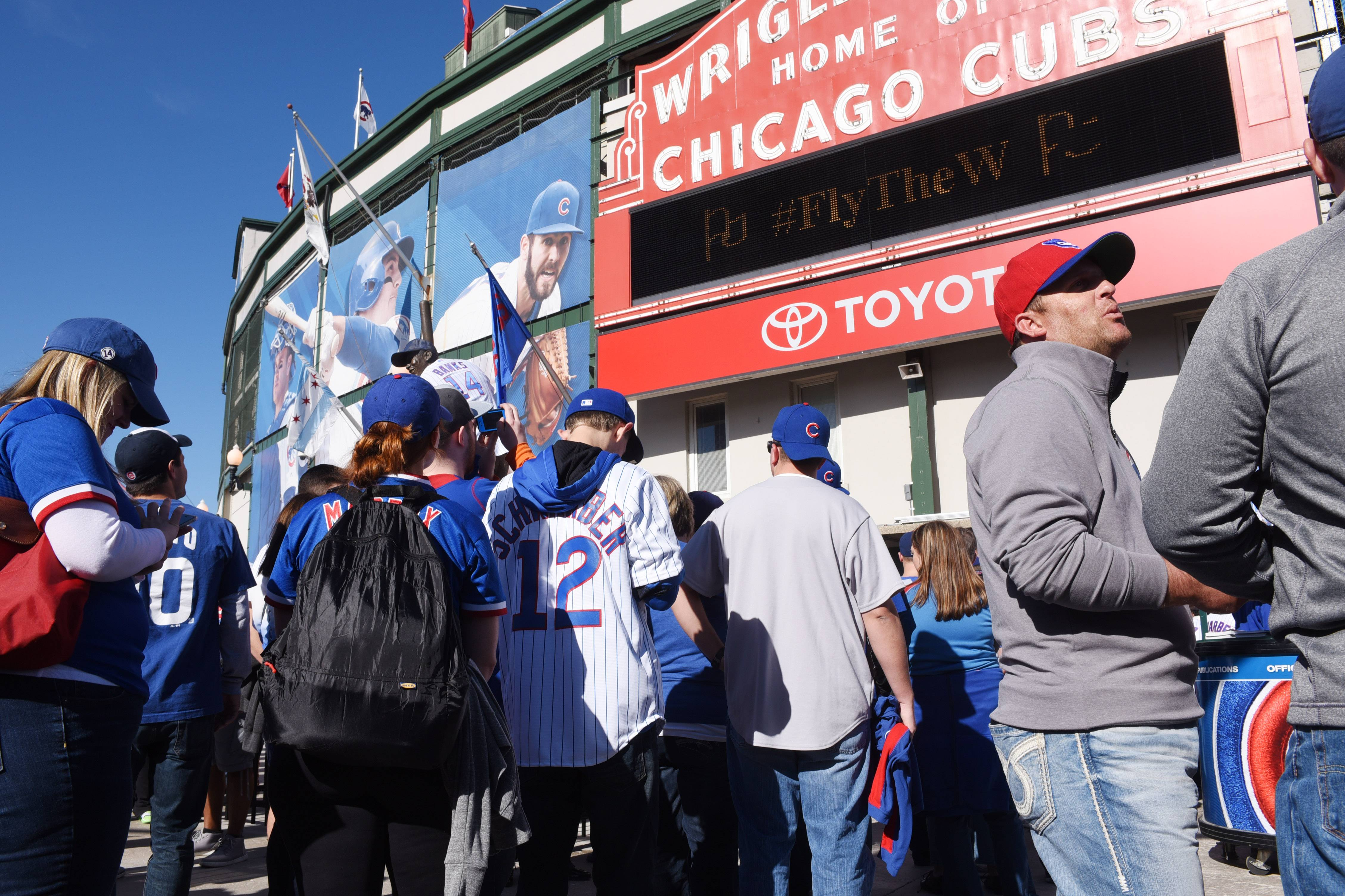 Many lucky fans will take the afternoon off today to attend Game 4 of the National League Division Series at Wrigley Field. But if you have to work, perhaps your boss will let you keep the radio on or stream the game on your computer.