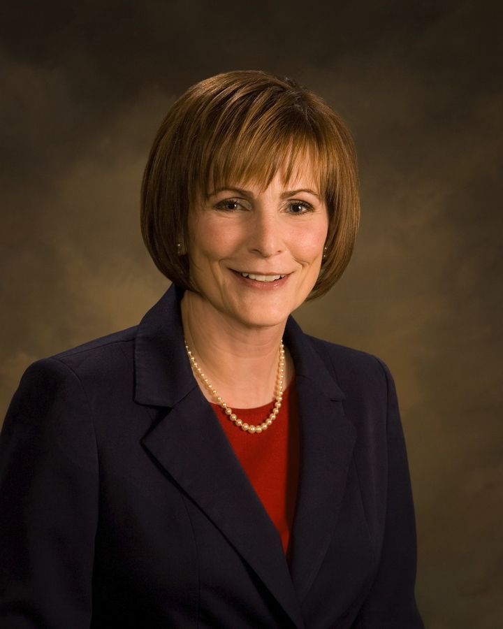 Waubonsee Community College President Christine Sobek's contract is for five years.