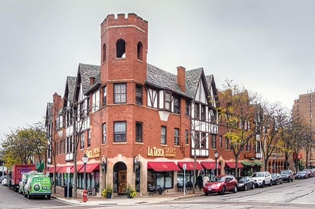 The Vail-Davis building in Arlington Heights has an interesting, 90-year-old history.