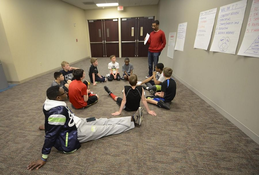 Anthony has several other coaches working with the players. The teens spend time learning about leadership, responsibility and Christianity.