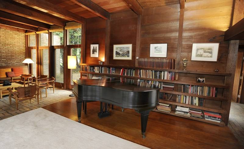 The Schweikher House In Schaumburg Built By Renowned Modern Architect Paul Is Truly