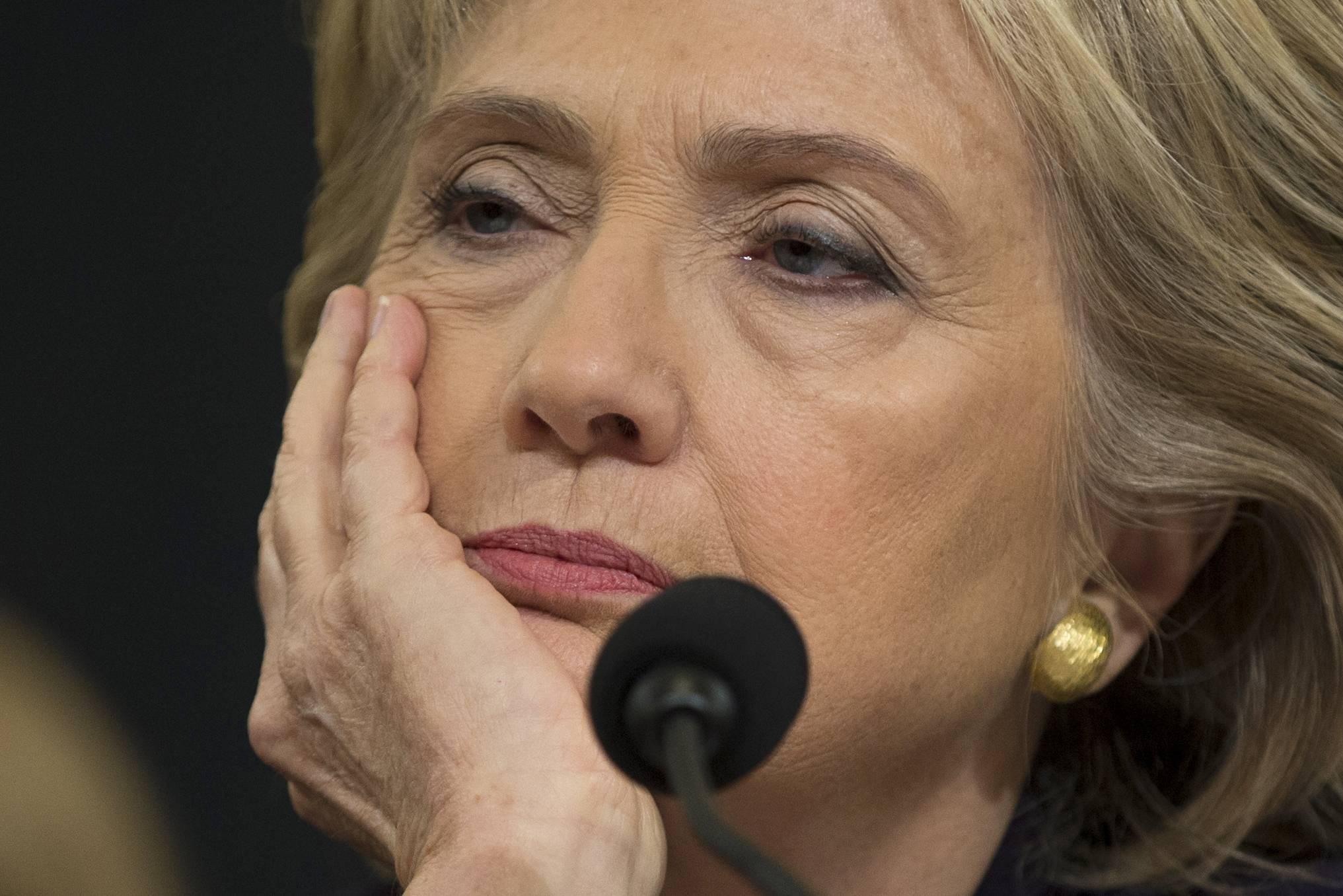 Clinton defends herself on Benghazi as GOP probes her record