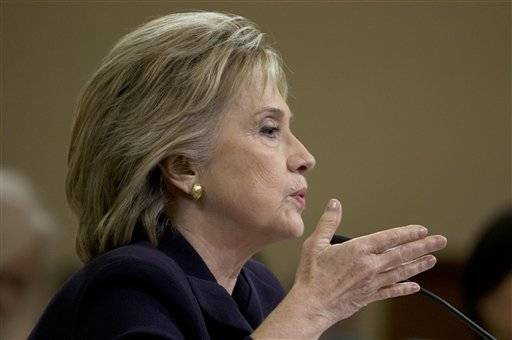 AP FACT CHECK: Clinton and critics on Benghazi, emails