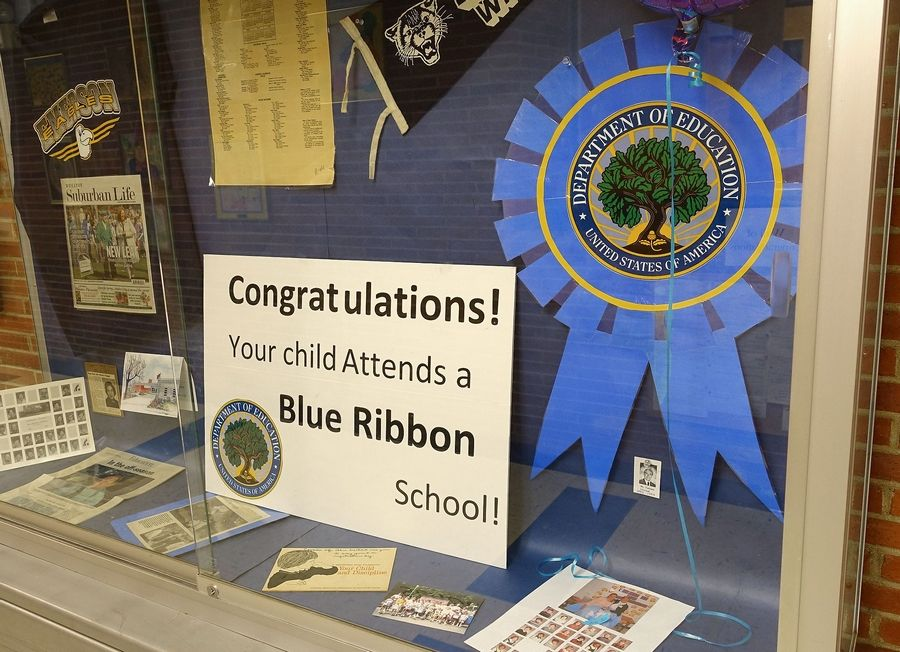 Emerson Elementary is one of five schools in DuPage County to receive a 2015 National Blue Ribbon School award.