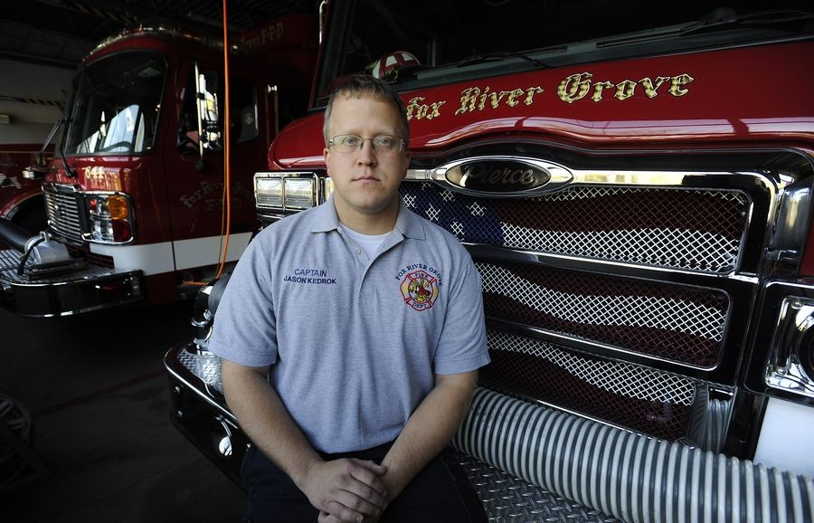 Fox River Grove Fire Capt. Jason Kedrok talks about being a student on the bus that was hit by a train in 1995, killing seven of his Cary-Grove High School classmates.