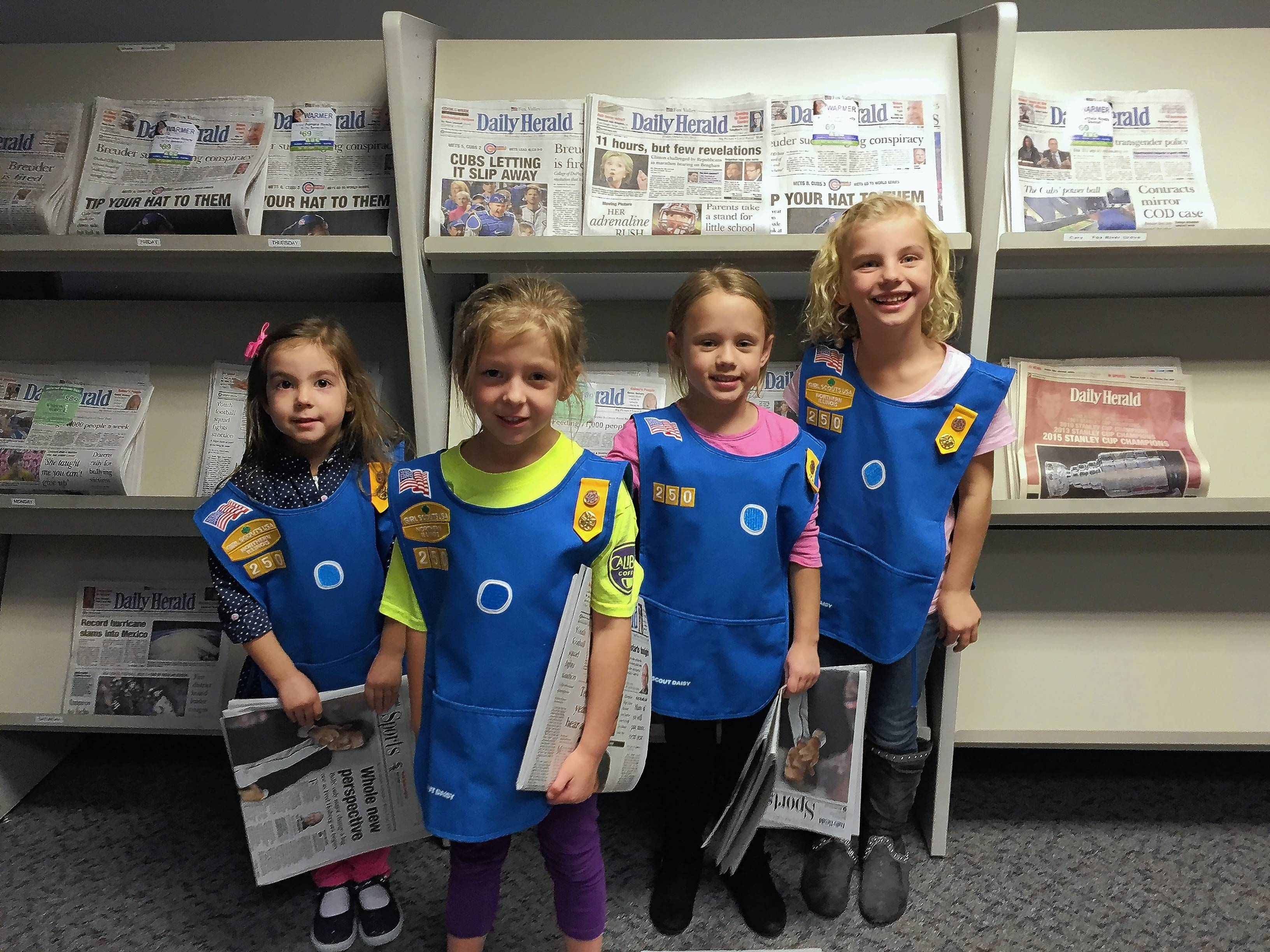 Huntley Daisy troop takes us back to the basics of truth and fairness