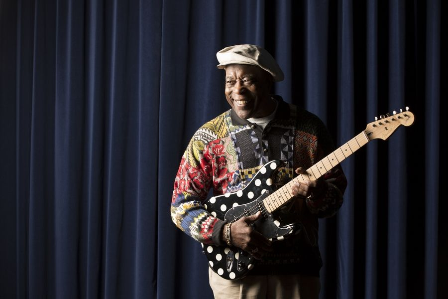Chicago blues guitarist Buddy Guy is happy to know that two new blues museums -- one at Navy Pier and the other in St. Louis -- will be opening over the next two years.